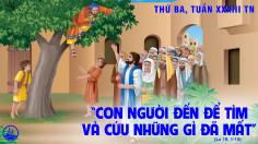 17.11.2020 – Thứ Ba Tuần XXXIII Thường niên - Thánh nữ Êlisabeth Hungari