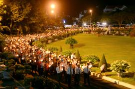 Đền Thánh Đức Mẹ Bãi Dâu: Cử hành phụng vụ đầu tháng 11.2020- Tôn kính Mẹ Maria