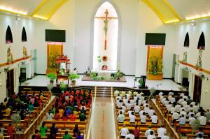 Tin Ảnh: Gx. Láng Cát: Mừng lễ Các Thánh Tử Đạo Việt Nam