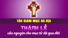 THÔNG BÁO: Thánh lễ cầu nguyện cho mục tử trong Giáo phận đã qua đời