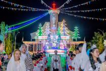 Tin Ảnh: Gx. Hữu Phước: Thánh lễ mừng Chúa Giáng Sinh 2020
