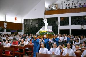 Đền Thánh Đức Mẹ Bãi Dâu: Thánh lễ đầu tháng 12.2020- Tôn kính Mẹ Maria