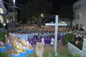 Gx. Tân Phước: Cử hành Tuần Đại Phúc