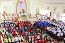 Gx. Phước Bình: Thánh lễ Bế mạc Năm Thánh thành lập Giáo xứ và khánh thành nhà mục vụ