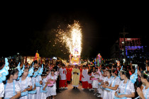 Gx. Hải Lâm: Đêm Canh thức và Thánh lễ mừng Chúa Giáng Sinh 2020