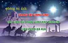PHÓNG SỰ ẢNH: Trang trí Giáng Sinh các giáo xứ thuộc Giáo hạt Bình Giã - Giáo phận Bà Rịa