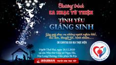 Thông báo: Đêm ca nhạc từ thiện: TÌNH YÊU GIÁNG SINH