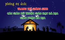 PHÓNG SỰ ẢNH: Trang trí Giáng Sinh các giáo xứ thuộc Giáo hạt Bà Rịa - Giáo phận Bà Rịa