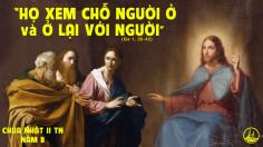 CÁC BÀI SUY NIỆM LỜI CHÚA CHÚA NHẬT II THƯỜNG NIÊN- B