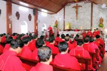 GP. Bà Rịa: Linh mục đoàn tĩnh tâm đầu năm Dương lịch 2021