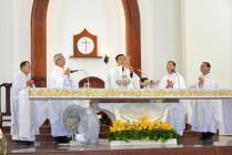 Gx. Phước Lâm: Tân linh mục Giuse Nguyễn Văn Hậu dâng thánh lễ tạ ơn