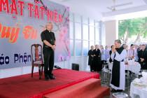 GP. Bà Rịa: Liên tu sĩ họp mặt tất niên và chúc Xuân Quý Đức cha