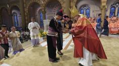 Các nhà lãnh đạo tôn giáo Thái Lan hành hương thúc đẩy hòa bình