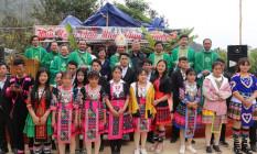Đức cha Giuse Nguyễn Đức Cường thăm viếng mục vụ anh chị em dân tộc H'mông