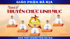 Thông báo: Thánh lễ truyền chức linh mục 2021