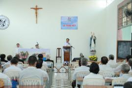 Huynh Đoàn Giáo Dân Đa Minh Gp. Bà Rịa: Thánh lễ tạ ơn làm phép nhà truyền thống và tổng kết hoạt động năm 2020