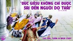 08.03.2021 – Thứ Hai tuần III Mùa Chay - Thánh Gioan Thiên Chúa
