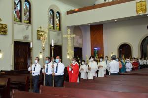 Gx. Chánh Toà Bà Rịa: Cử hành phụng vụ Lễ Lá