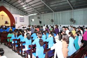 Gx. Nam Bình: Kỷ niệm 60 năm thành lập Giáo xứ và khai mạc Năm Thánh Giáo xứ