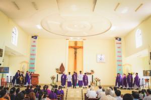 Tin Ảnh: Gx. Hòa Lâm:  Thánh lễ khai mạc ngày Chầu Thánh Thể thay Giáo phận- Ngày 21.03.2021
