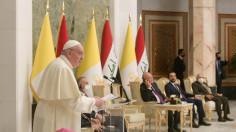 Tông du Iraq: Diễn văn trước chính quyền, xã hội dân sự và ngoại giao đoàn