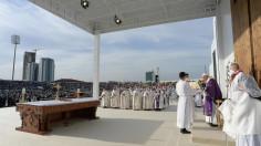 Tông du Iraq: Bài giảng Thánh Lễ tại sân vận động Franso Hariri