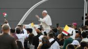 Tông du Iraq: Thánh lễ tại sân vận động Franso Hariri ở Erbil