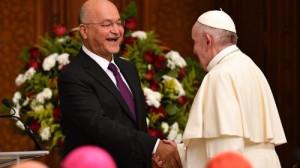 Tổng thống Iraq chào đón Đức Thánh Cha Phanxicô