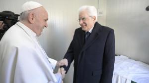 Tổng thống Ý chúc mừng Đức Thánh Cha nhân 8 năm khai mạc sứ vụ chủ chăn Giáo hội hoàn vũ