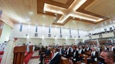 Tông du Iraq: Thánh lễ tại nhà thờ chính toà Canđê, Baghdad