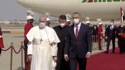 ĐTC Phanxicô đến phi trường Baghdad và được Thủ tướng Iraq chào đón