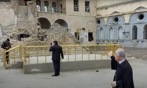 Nơi đổ nát tại Iraq mà Đức Thánh Cha sẽ đến cầu nguyện vào ngày Chúa nhật