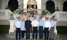Phái đoàn Giáo phận Hà Tĩnh đến chào Đức Giám mục Louis Nguyễn Anh Tuấn