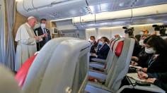 Toàn văn cuộc phỏng vấn Đức Thánh Cha trên chuyến bay từ Iraq về Roma