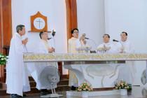 Gx. Phước Lâm:Tân Linh MụcGiuse Nguyễn Thanh Minh – Dòng Vinh Sơn Việt Nam (CM) dâng lễ tạ ơn
