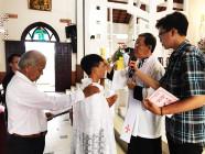 Cậu bé 14 tuổi gặp Chúa nhờ video Công giáo