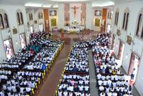 Gx. Chánh Tòa: Thánh lễ khai mạc ngày Chầu Thánh Thể thay Giáo phận 2021