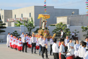 Tin Ảnh: Gx. Phước Bình: Mừng lễ kính Thánh Vinh-sơn Ferriê- Bổn mạng Họ Vinh-sơn