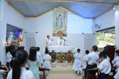 Giáo điểm Côn Sơn: Đức cha Emmanuel cử hành đại lễ Phục Sinh 2021 và hành hương Núi Đức Mẹ Côn Sơn
