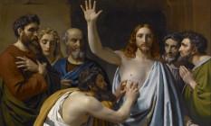 Đại lễ'Lòng Chúa Thương Xót' và bức tranh'Tôma cứng lòng'