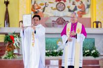 Gx. Sơn Bình: Chào đón Cha Tân Chánh xứ Micae Lê Công Khanh- Ngày 17.05.2021
