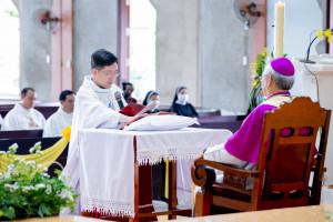Gx. Quảng Thành: Cha Đaminh Mai Chiến Chinh nhận nhiệm sở mới- Ngày 18.5.2021