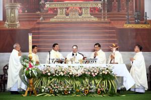 Gx. Phước Hưng: Thánh lễ tạ ơn mừng kỷ niệm 10 năm linh mục