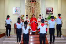 Tin ảnh: Gx. Sơn Hòa: Mừng lễ Chúa Thánh Thần Hiện Xuống- Bổn mạng Giáo lý viên