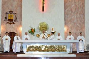 Gx. Chánh Tòa: Thánh lễ tạ ơn kỷ niệm ngày Đức Cha Emmanuel chấp chính Giáo phận Bà Rịa