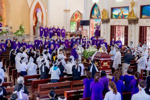 Gx. Hải Đăng: Thánh lễ An táng Bà cố Maria Trần Thị Tỉnh