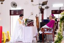 Gx. Hòa Tân: Chào đón Cha Tân Chánh xứ Giuse Nguyễn Trần Phương Hoàng- Ngày 15.05.2021