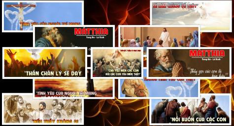 Hình minh họa Lời Chúa  Tuần 6 Phục sinh