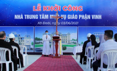 Lễ khởi công xây dựng Trung tâm Mục vụ – Nhà Chung Giáo phận Vinh