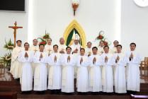 Gp. Bà Rịa: Thánh lễ tôn kính Thánh Tâm Chúa Giêsu và phong chức phó tế